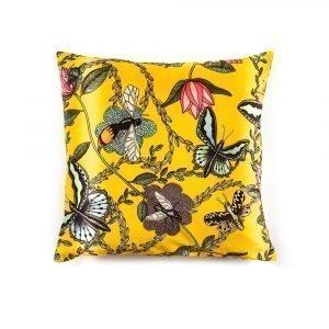 Nadja Wedin Design Bugs & Butterflies Tyynynpäällinen Sametti 48x48 Cm