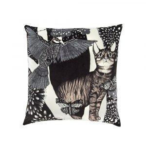 Nadja Wedin Design Katten Tyynynpäällinen Sametti 48x48 Cm