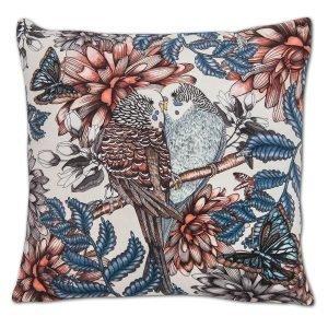Nadja Wedin Design Lovebirds Tyynynpäällinen Sametti 48x48 Cm