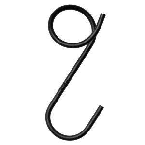 Naknak Q-Hook Vaateripustin Musta 3 Kpl