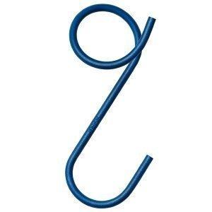Naknak Q-Hook Vaateripustin Sininen 3 Kpl