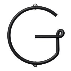 Naknak Wire Alphabet G Kirjain Valkoinen