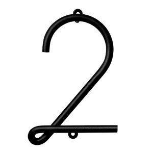 Naknak Wire Number 2 Numero Valkoinen