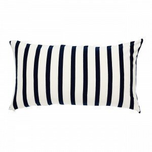 Navy Stories Big Stripe Pillow Case Tyynyliina Mariininsininen 50x90 Cm