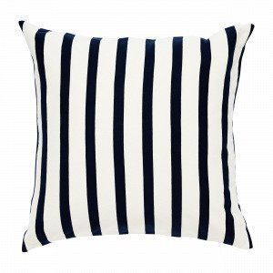 Navy Stories Big Stripe Pillow Case Tyynyliina Mariininsininen 65x65 Cm