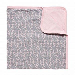 Navy Stories Jaquard Baby Blanket Viltti Roosa 80x104 Cm