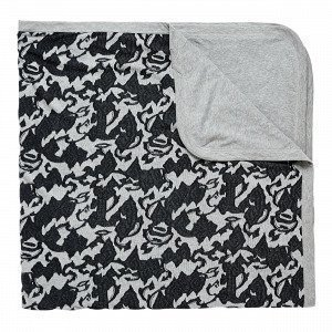 Navy Stories Jaquard Blanket Viltti Harmaa 150x200 Cm