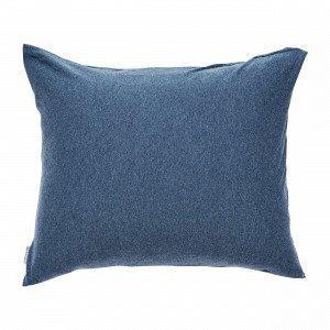 Navy Stories Melange Pillow Case Tyynyliina Mariininsininen 50x60 Cm
