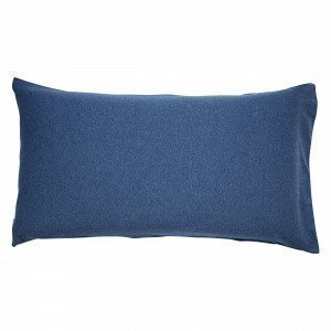Navy Stories Melange Pillow Case Tyynyliina Mariininsininen 90x50 Cm