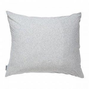 Navy Stories Melange Pillow Case Tyynyliina Vaaleanharmaa 50x60 Cm