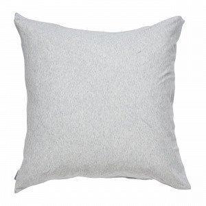 Navy Stories Melange Pillow Case Tyynyliina Vaaleanharmaa 65x65 Cm