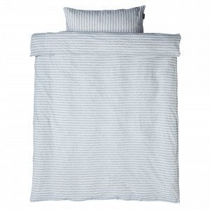 Navy Stories Stripe Baby Bedset Pussilakanasetti Vauvoille Valkoinen 100x130 Cm