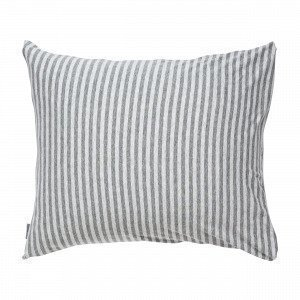Navy Stories Stripe Pillow Case Tyynyliina Harmaa 50x60 Cm