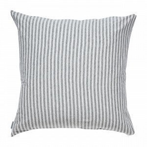 Navy Stories Stripe Pillow Case Tyynyliina Harmaa 65x65 Cm