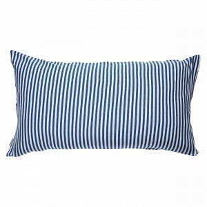 Navy Stories Stripe Pillow Case Tyynyliina Mariininsininen 90x50 Cm