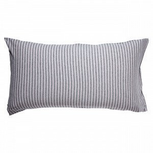 Navy Stories Stripe Pillow Case Tyynyliina Roosa 90x50 Cm