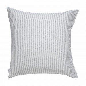Navy Stories Stripe Pillow Case Tyynyliina Valkoinen 65x65 Cm