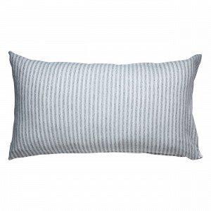 Navy Stories Stripe Pillow Case Tyynyliina Valkoinen 90x50 Cm