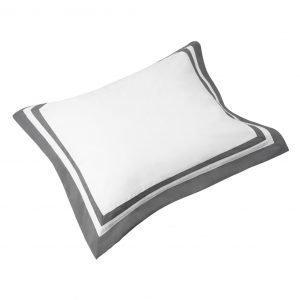 Newport Belgravia Tyynyliina Valkoinen / Harmaa 50x60 Cm