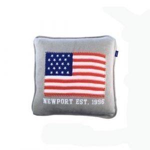 Newport Knitted Flag Tyynynpäällinen
