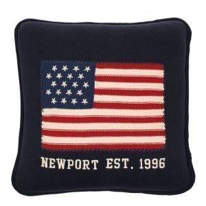 Newport Knitted Flag Tyynynpäällinen 50x50 Cm