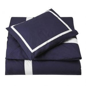 Newport Mayfair Pussilakana Sininen / Valkoinen 220x220 Cm