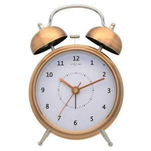 Nextime Wake Up 15 Herätyskello Kupari