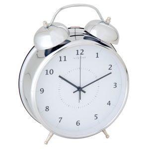 Nextime Wake Up 23 Herätyskello Hopea
