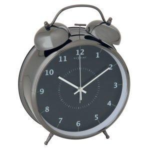 Nextime Wake Up 23 Herätyskello Musta