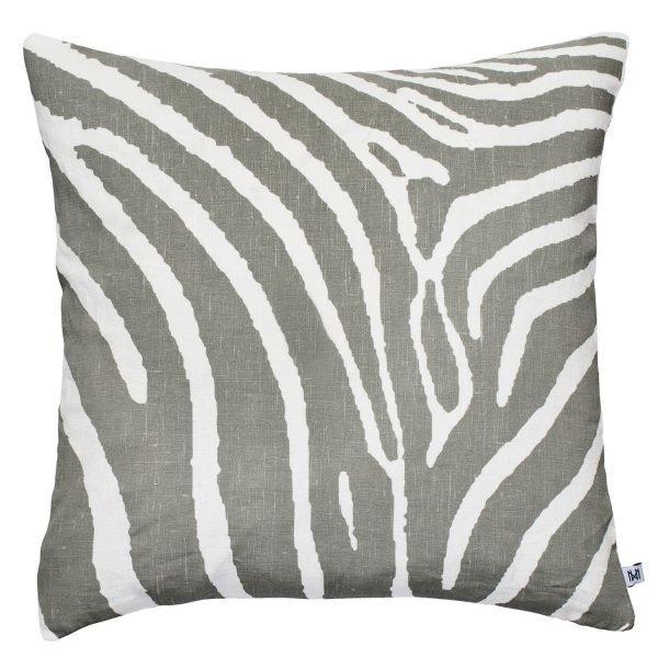Nina Kullberg Zebra Tyynynpäällinen London Fog 45x45 Cm