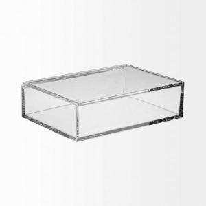 Nomess Copenhagen Clear Box Medium Kannellinen Säilytyslaatikko