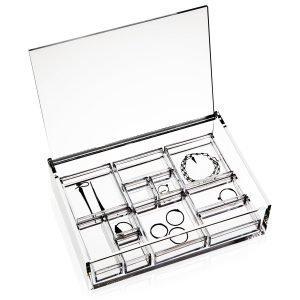 Nomess Copenhagen Clear Jewellery Box Korurasia