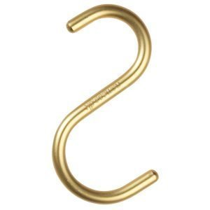 Nomess Copenhagen S Hook Ripustin Kulta 5-Pakkaus