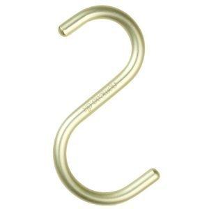 Nomess Copenhagen S Hook Ripustin Lime 5-Pakkaus