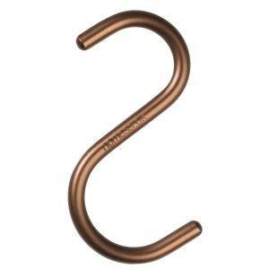 Nomess Copenhagen S Hook Ripustin Pronssi 5-Pakkaus