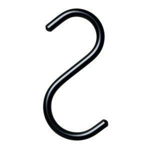 Nomess Copenhagen S Hook Ripustin Setti Xs Musta 5 Kpl