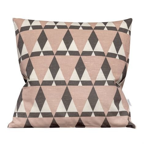 Nordic Nest Mountains Tyynynpäällinen Dusty Rose Vaaleanpunainen
