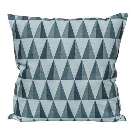 Nordic Nest New Harlequin Tyynynpäällinen Storm Blue Sininen