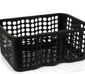 Nordiska Plast Rondo Muovikori Musta 12 L