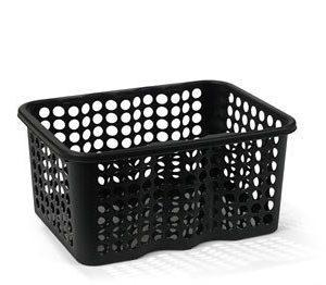 Nordiska Plast Rondo Muovikori Musta 6 L