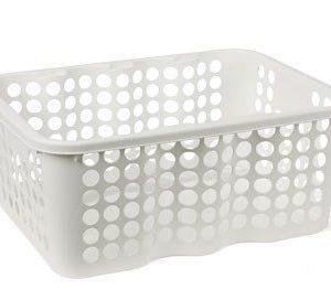 Nordiska Plast Rondo Muovikori Valkoinen 12 L
