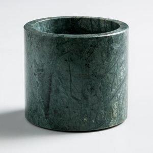 Nordstjerne Green Marble Kynttilänjalka Large Vihreä