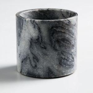 Nordstjerne Grey Marble Kynttilänjalka Large Harmaa