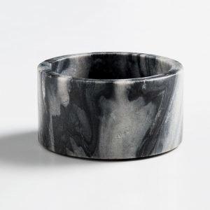 Nordstjerne Grey Marble Kynttilänjalka Medium Harmaa