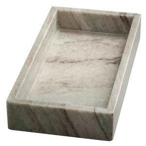 Nordstjerne Marble Tray Tarjotin Suorakulmainen Ruskea Marmori