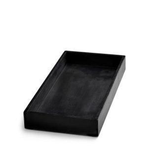 Nordstjerne Soap Stone Suorakulmainen Tarjotin Musta