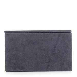 Nordstjerne Suede Box Laatikko L Stone Grey