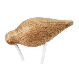 Normann Copenhagen Shorebird Puuhahmo S Valkoinen