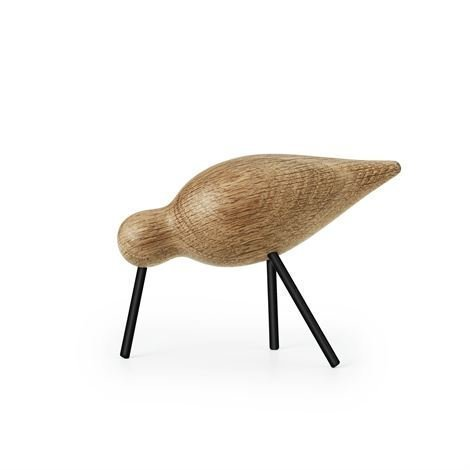 Normann Copenhagen Shorebird Tammi-Musta Keskikokoinen