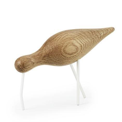 Normann Copenhagen Shorebird Tammi-Valkoinen Iso